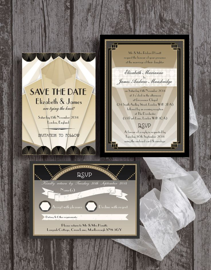 Best 25 Deco reply cards ideas on Pinterest