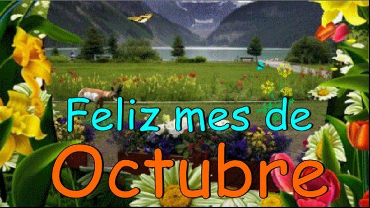 Feliz mes de Octubre