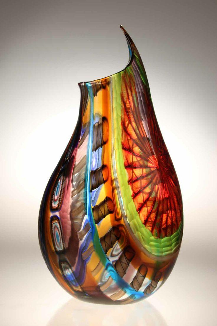 104 best new 2014 murano glass vases images on pinterest glass murano glass studio vase lodario 15 reverse reviewsmspy