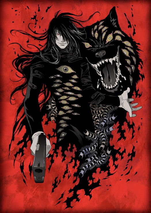 Alucard From Hellsing Ultimate | Hellsing Ultimate Ova Anime Depot Reviews And Interesting