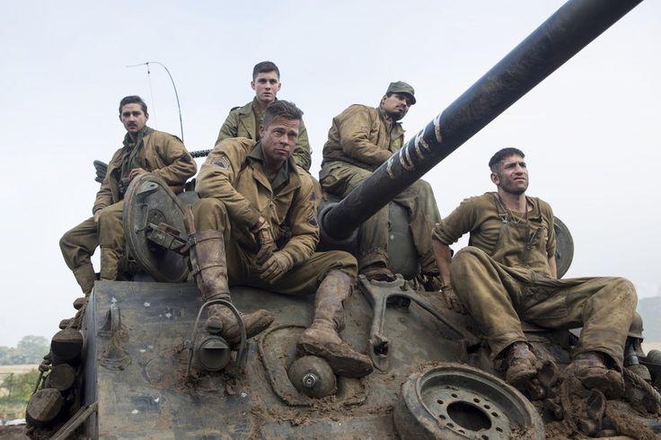 """Brad Pitt's War Movie """"Fury"""" Is A Manly Tearjeaker"""