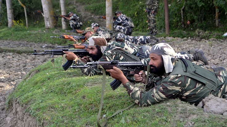 #Pakistan violates ceasefire in international border areas of #J&K