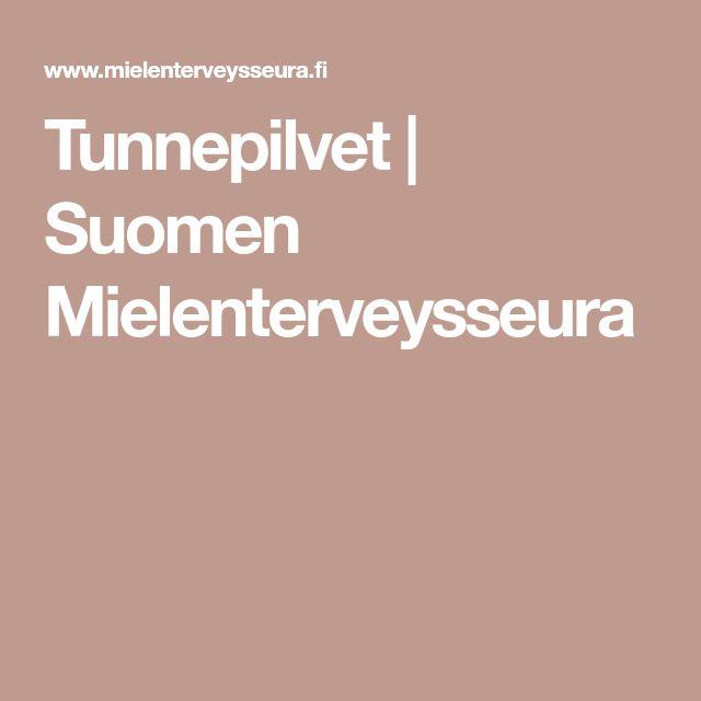 Tunnepilvet | Suomen Mielenterveysseura