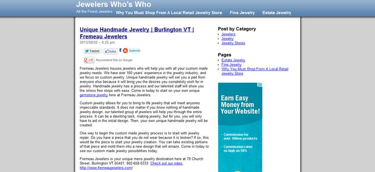 Jewelry, Jeweler, Engagement Rings, Diamonds, Jewelry Store --> http://jewelerswhoswho.com