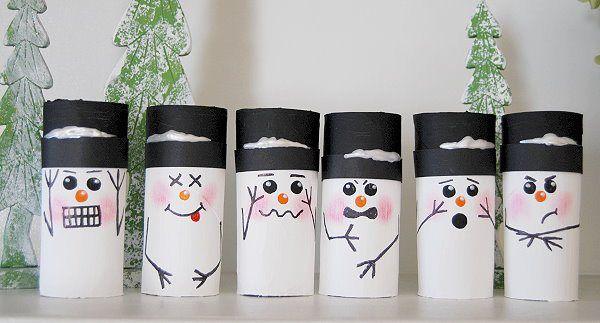 Snowman Bowling - CreativeMeInspiredYou.com