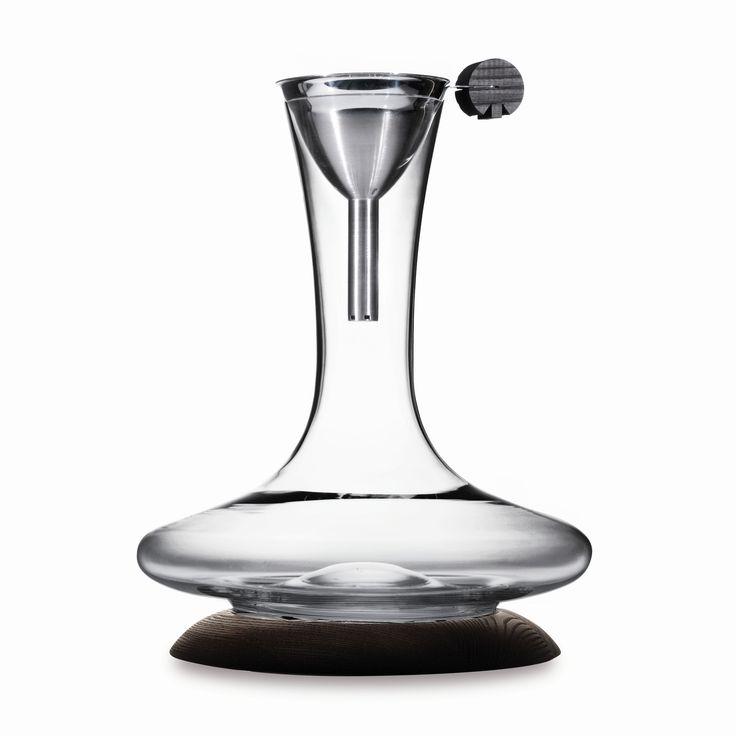 wine decanter set cool wine aerators decanters pinterest. Black Bedroom Furniture Sets. Home Design Ideas