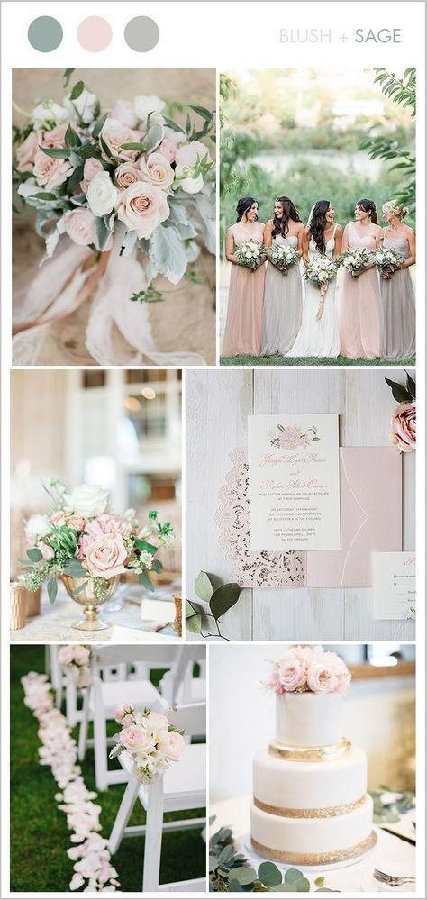 9 schöne erröten u. Weiche rosa Hochzeits-Farben, damit Bräute versuchen   – … – Wedding