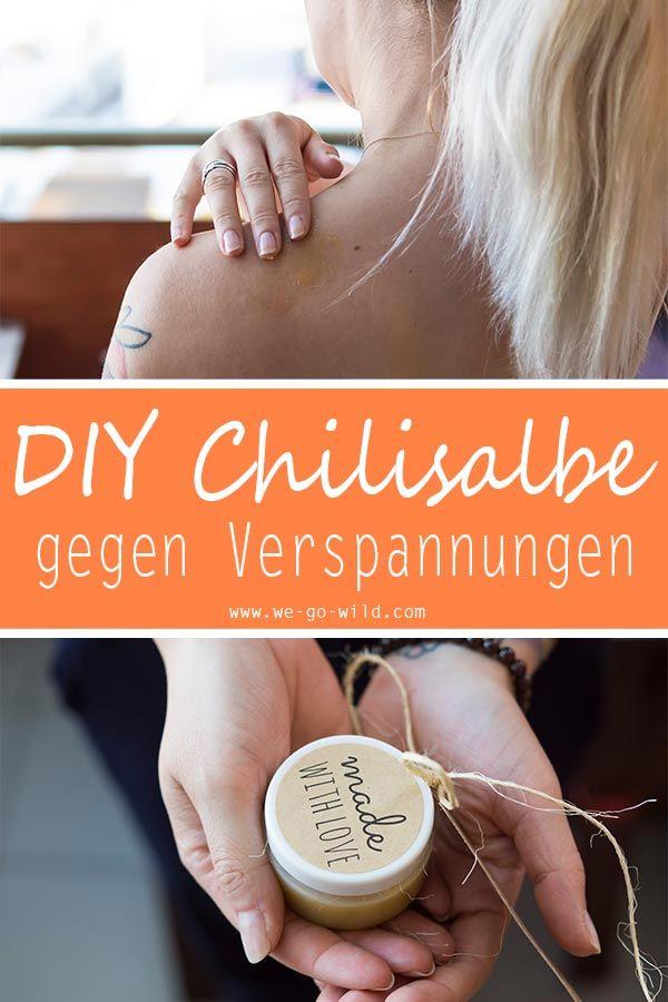 Sie möchten selbst eine Chilisalbe machen? Klicken Sie hier für eine schnelle und einfache …   – DIY Kosmetik selber machen