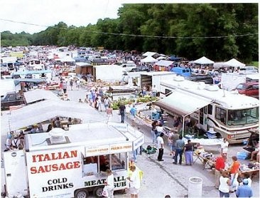 Jaime's Flea Market - HUGE indoor/outdoor flea market in the County I live in! Open Weds & Sat
