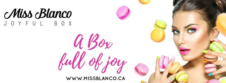 Miss Blanco Joyful Box inspiration board