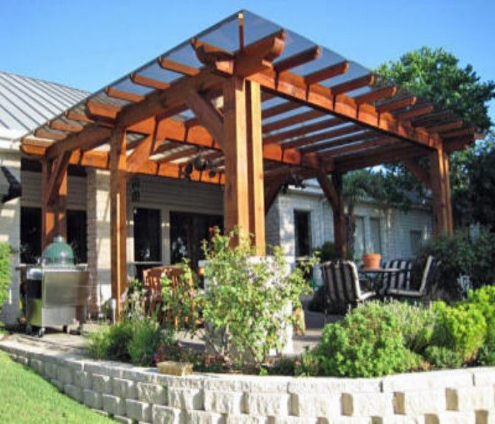 Know about fantastic pergola covers of your house for Cheap roof covering