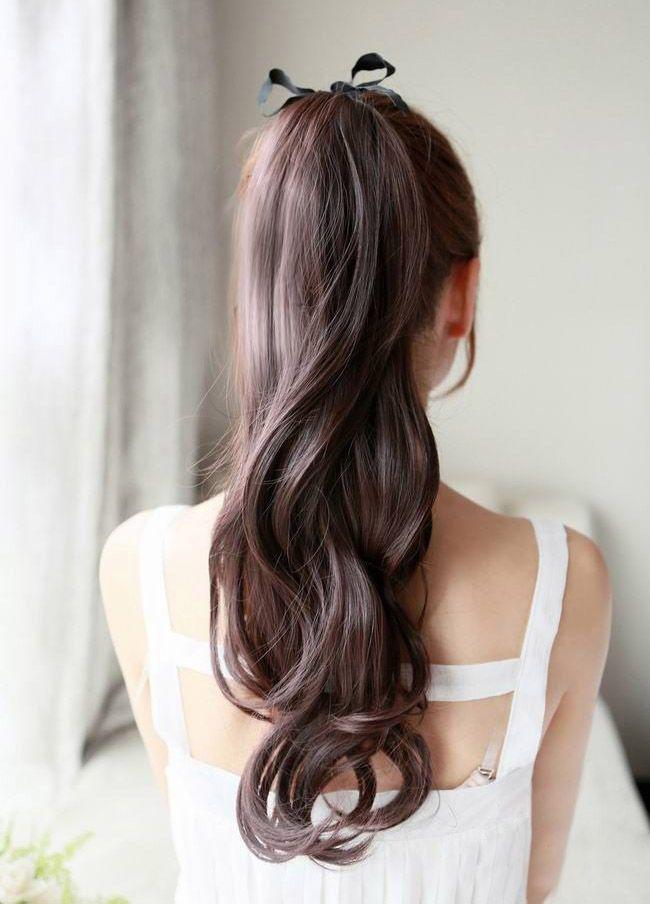 男子の憧れ!?お嬢様風ポニーテール♡ 合コンにしていきたいヘアスタイルまとめ。髪型・アレンジ・カットの参考に☆