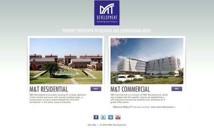M & T Developers // commercial architectural exterior examples - daylight