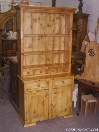 Lawless Furniture; Oak & Blond Walnut Dressar - Image 2 http://www.dazzlemarket.com/ads/lawless-furniture-oak-blond-walnut-dressar/