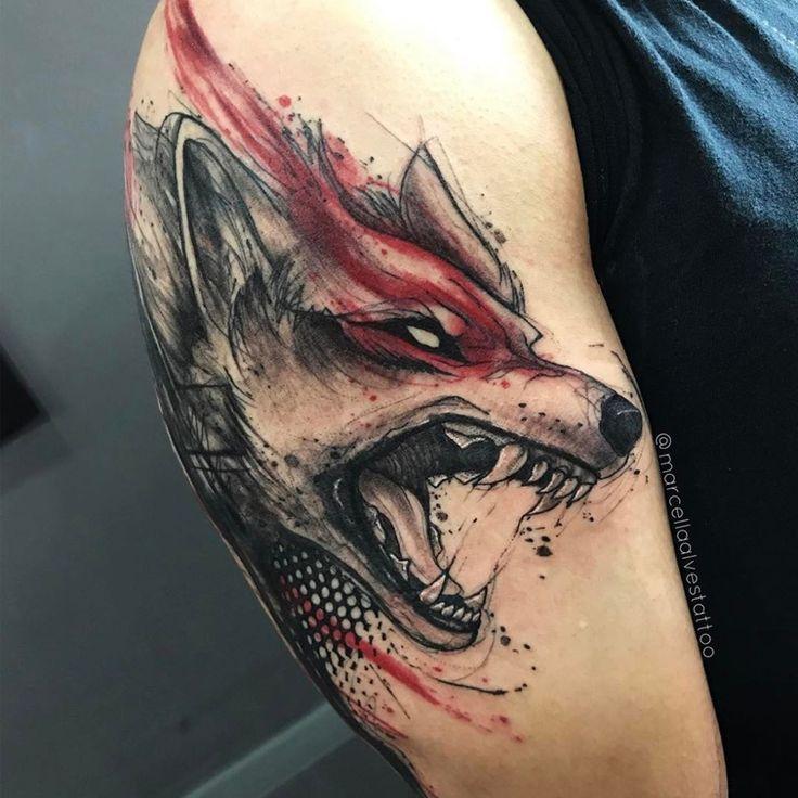 """5,635 Likes, 24 Comments - Tattoaria (@tattoaria_oficial) on Instagram: """"A carioca @marcellaalvestattoo traz sua arte incrível, marcante e destruidora para a Tattoaria…"""""""