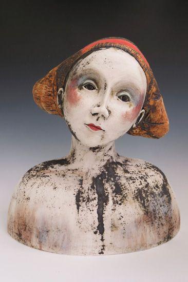 contemporary, ceramic, figure, Bath