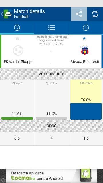 Forza Steaua!!! In seara aceasta mai adunam 3 puncte pt. Liga 1!!!