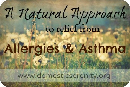 allergies and asthma naturally