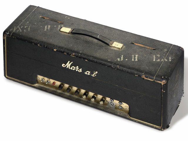 Jimi Hendrix's 1966 Marshall 100 Watt Super Lead