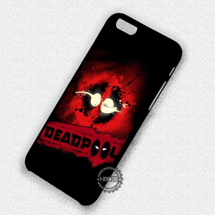 Red Logo Deadpool - iPhone 7 6 5c 5s SE Cases & Covers
