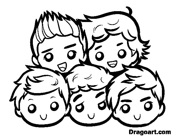 one direction coloring pages coloring page one direction 2 to color online coloringcrew