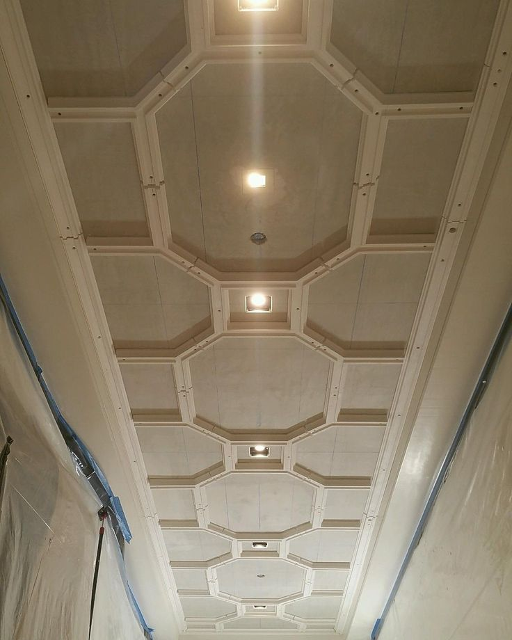 Decorative plaster ceiling.  Private residence, Beacon St Boston Ma
