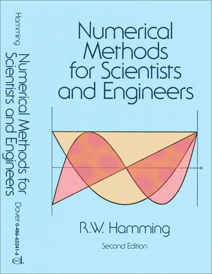 Numerical Methods for Scientists and Engineers by Richard Hamming   Numerical analysis is a subject of extreme interest to mathematicians and computer scientists, who will welcome this first inexpensive paperback edition of a groundbreaking classic text on the subject. In an introductory chapter on numerical methods and their relevance to computing, well-known mathematician Richard Hamming ('the Hamming code,' 'the Hamming distance,' and 'Hamming window,' etc.), suggests that...