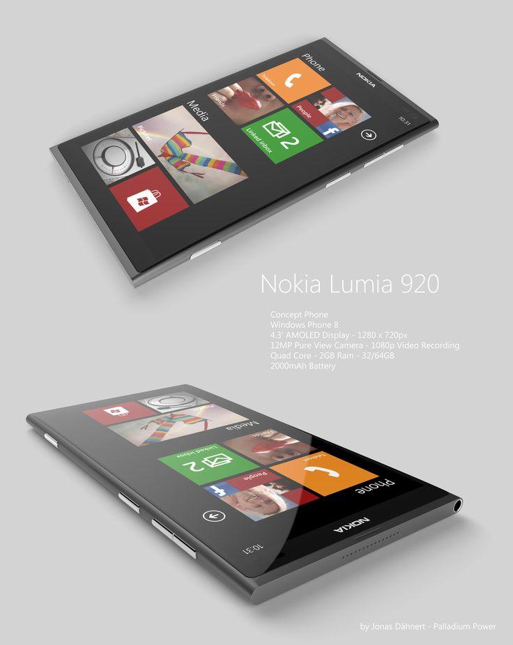 Nokia Lumia 920 Windows Phone 8 by Jonas-Daehnert on DeviantArt