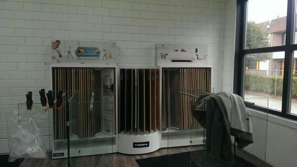 Balterio display bij vd Dussen Interieur