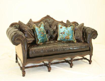 Old Hickory Tannery   RUSTIC HOME U0026 DECOR · Tufted SofaCustom FurnitureModern  RusticRustic HomesClub ChairsSofasLoveseatsSan AntonioFamily Room