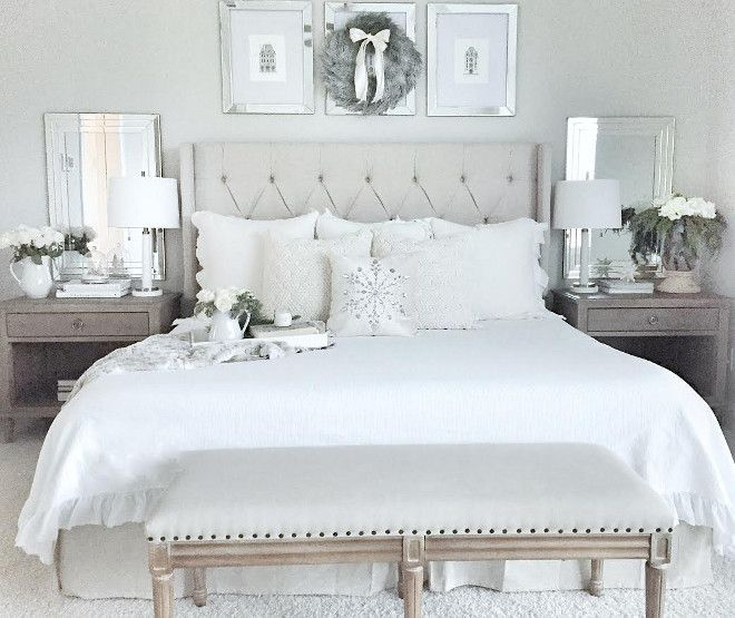 25 Stunning Transitional Bedroom Design Ideas: 25+ Best Ideas About Mirror Behind Nightstand On Pinterest