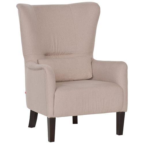 Cechy i korzyści: Stylowy i ponadczasowy fotel. Fotel w komplecie z wygodną i ozdobną zarazem poduszką w tym samym kolorze. Drewniane, stabilne nogi w kolorze wenge. Cena zależna od rodzaju ...