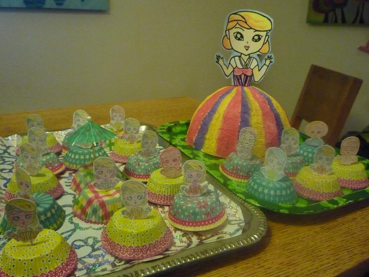 Prinses cake, traktatie