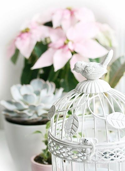 Maya-Honey Lampwork: Shabby chic window decor