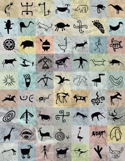 Magnetic Petroglyphs