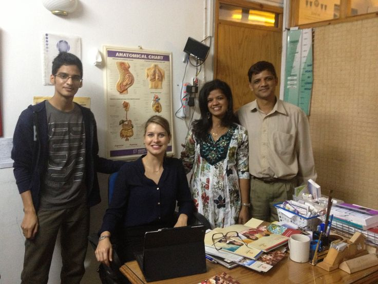 Karen Iber at OVEC MOKA student counselling sessions in Mauritius