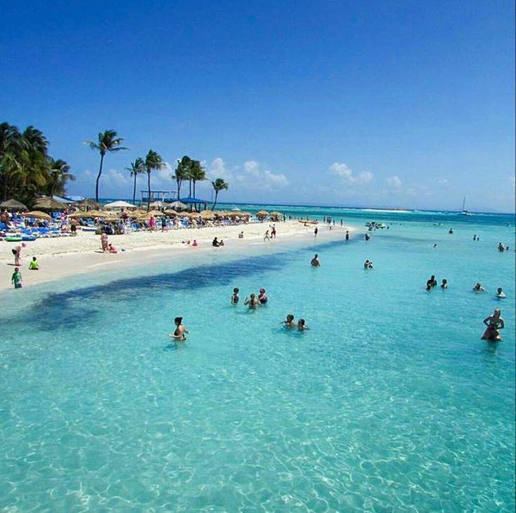 Palominos Island beach in Puerto Rico!