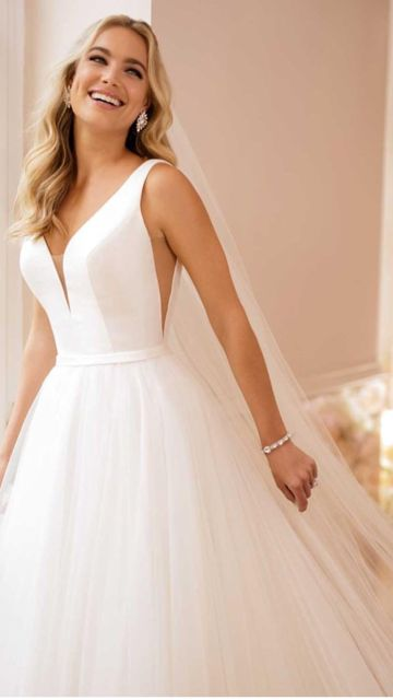 Stella York 6581 – , $699 Size: 12 | New (Un-Altered) Wedding Dresses