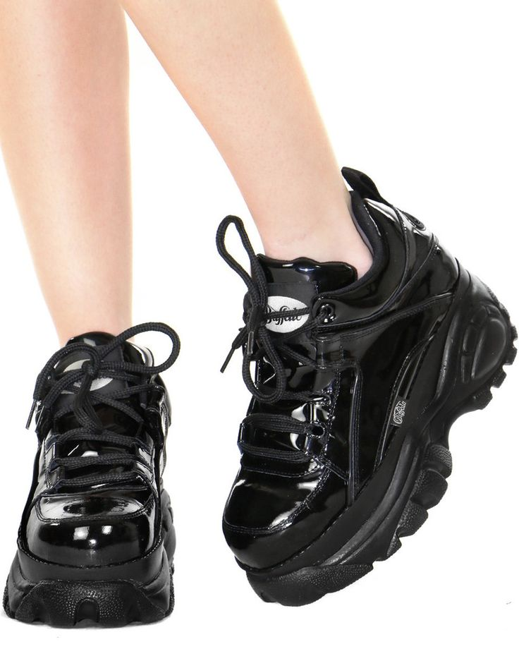 Buffalo Patent Low Cyber Sneakers At Shop Jeen Shop Jeen