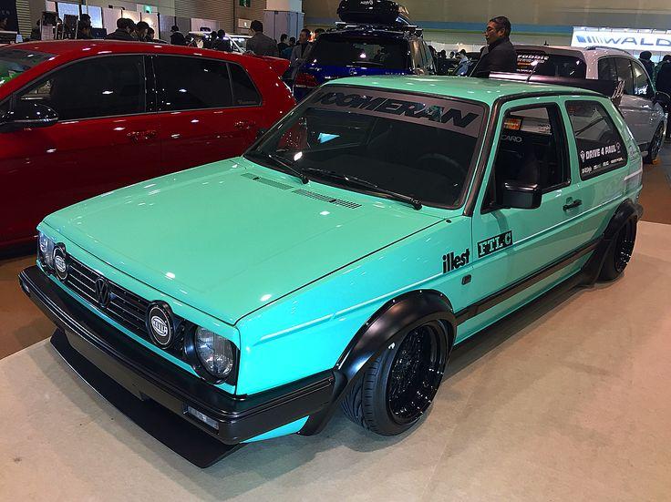 euro magic voomeran mk2  @euromagic_voomeran #Volkswagen #GOLFmk2 #GTi #golf2 #mk2 #watercooled #vwlife #vwstory #frontlinewheels #FLM02 #toyotire #euromagic #voomeran #turquoise #teal #aqua #Renownusa #recaro #fatlace #illest