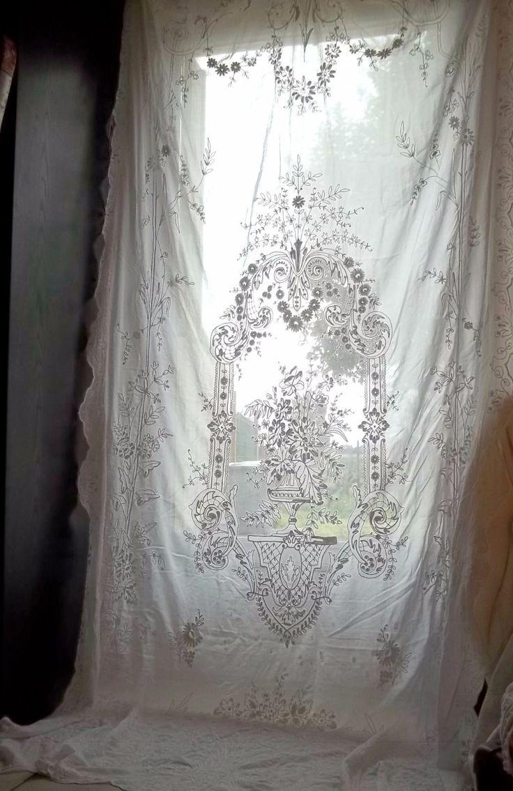 1000 id es sur le th me rideaux de tulle sur pinterest rideaux froiss s rideaux et rideaux de. Black Bedroom Furniture Sets. Home Design Ideas