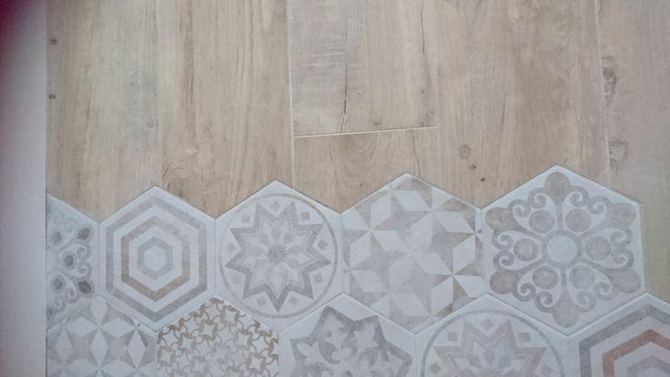 17 best ideas about imitation carreaux de ciment on - Carrelage imitation tomette ancienne ...