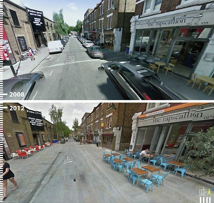 Gallery - Before & After: 30 Photos that Prove the Power of Designing with Pedestrians in Mind - 21