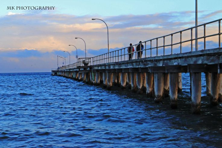 MK Photography - winter by the water at Altona Beach Pier