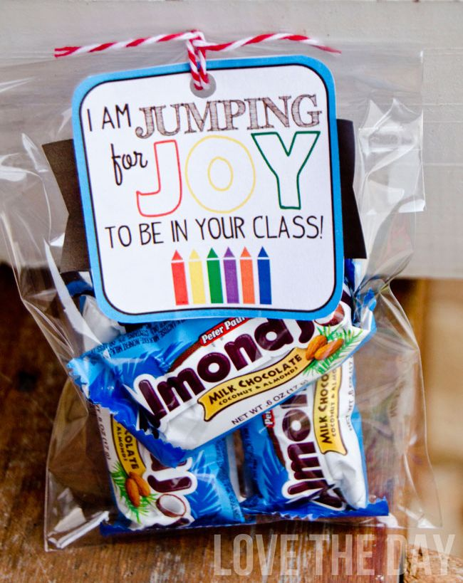 Back To School Teacher Gift Ideas by Love The Day: Jumping For Joy!