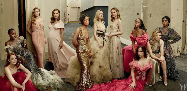 Актрисы в фотосъемке для Vanity Fair — 2017. Фото — Энни Лейбовиц.