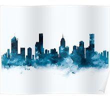 Melbourne   #melbourne #australia #city #skyline #cityscape #landscape #poster #home #office #wall #decor #art #prints #gift #ideas #shopping