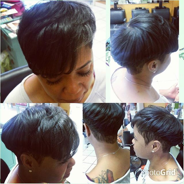 Top 100 short hairstyles for black women photos #gladysnewimagesalon #dominicanas #shorthairstylesforblackwomen # curls# color#highlights # blowout # flatiron #ombre #balayage #miamistylist #honeyblondehaircolor See more http://wumann.com/top-100-short-hairstyles-for-black-women-photos/