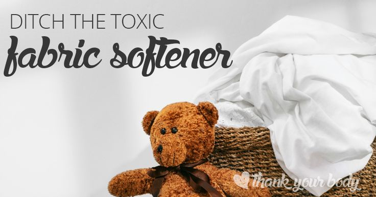 Why should you ditch your fabric softener? Lots of reasons. Learn about the toxic chemicals lurking in your fabric softener and dryer sheets.