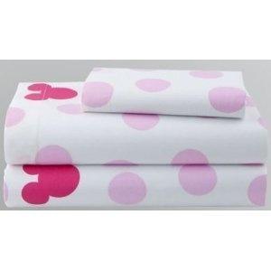 Amazon.com: Disney Minnie Mouse 3 Piece Twin Sheet Set Cotton Rich: Home & Kitchen